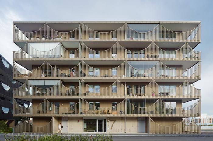 Жилой комплекс в Швеции от Tham & Videgard arkitekter (8 фото)