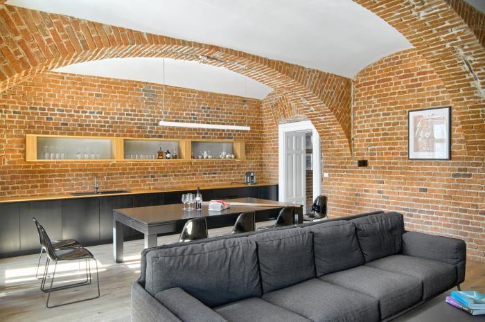 Дизайн квартиры футболиста в Словении (10 фото)
