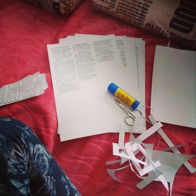 Процесс создания шпаргалок (15 фото)