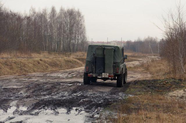 В Белоруссии создали машину, работающую на дровах (13 фото)