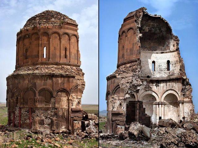 Интригующие фотографии заброшенных мест (25 фото)