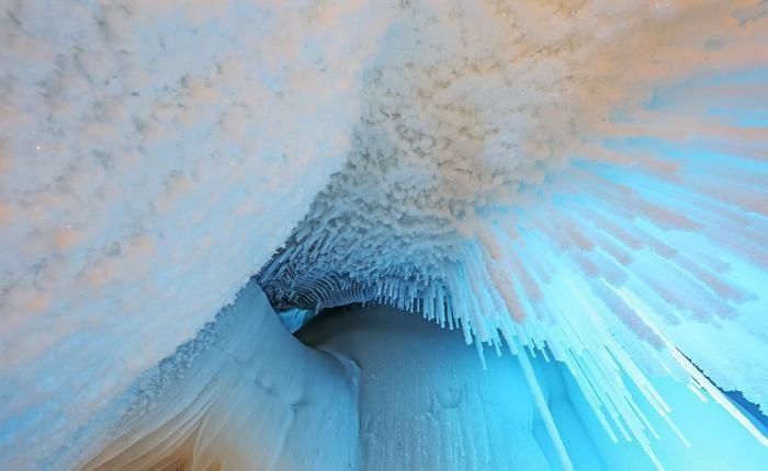 Подземное ледяное царство китайской провинции (5 фото)