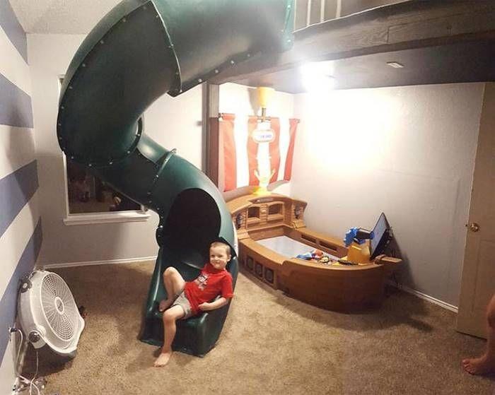 Отец сделал необычный подарок сыну, воплотив свою детскую мечту (15 фото)