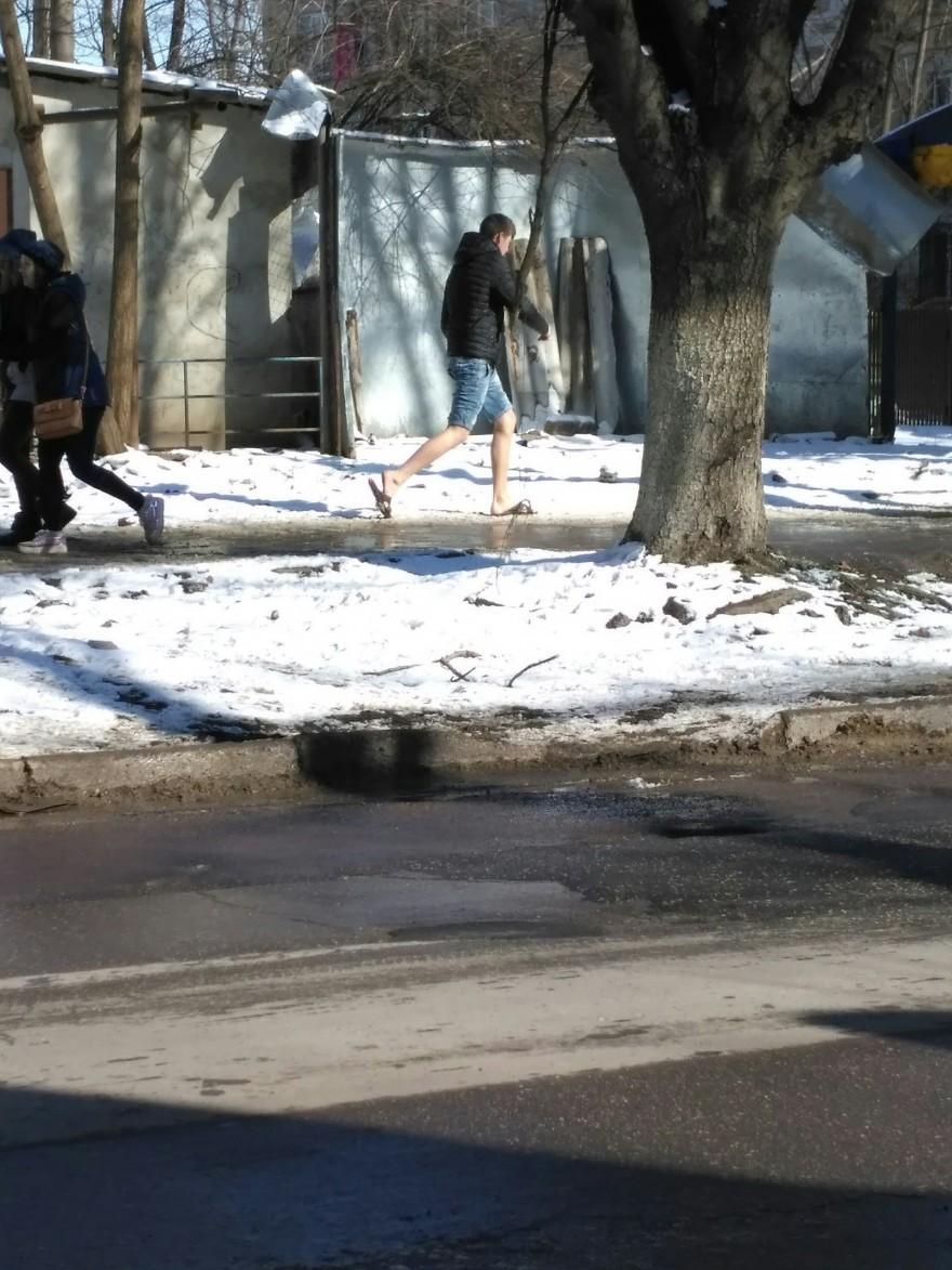 Неутешительные итоги первого дня весны (21 фото)