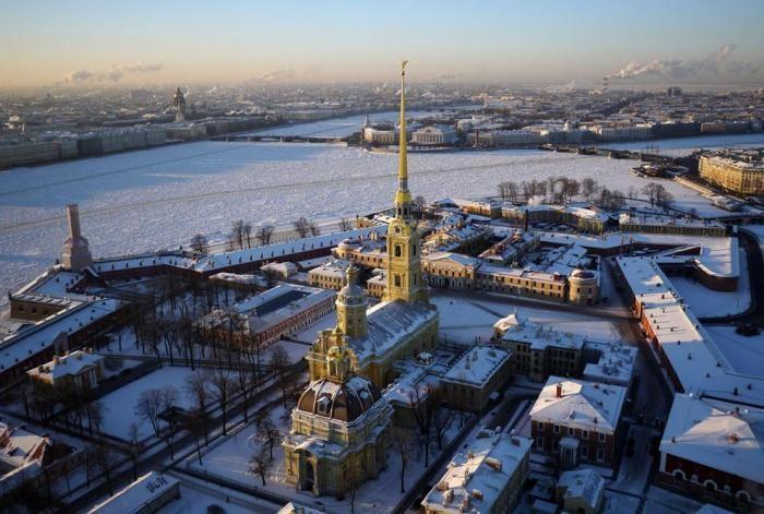 Санкт-Петербург с высоты (13 фото)