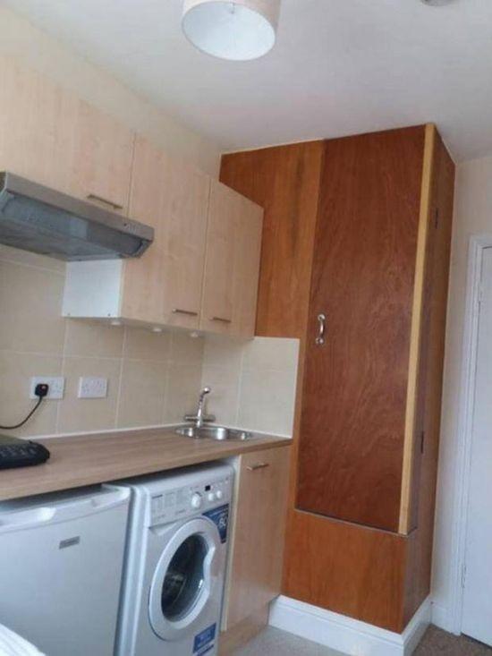 Снимаем однокомнатную квартиру в престижном районе Лондона за 670 долларов (3 фото)