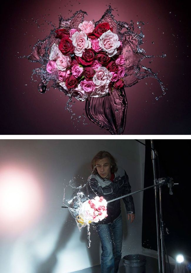 Процесс создание удивительно красивых снимков (33 фото)