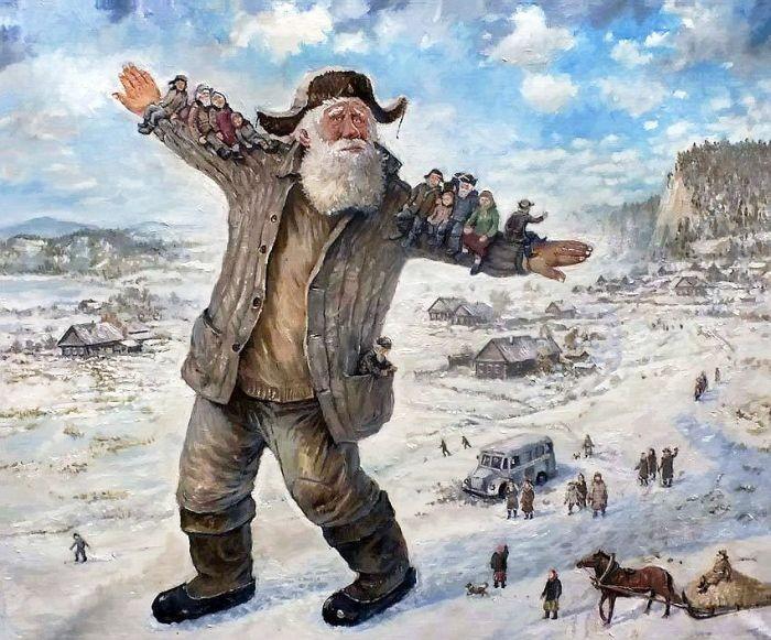 Добрый дедушка Леонид (19 фото)