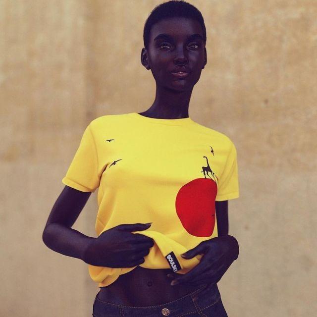 Девушка, которая создана быть моделью (6 фото)