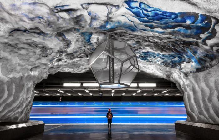 Стокгольмский метрополитен (14 фото)