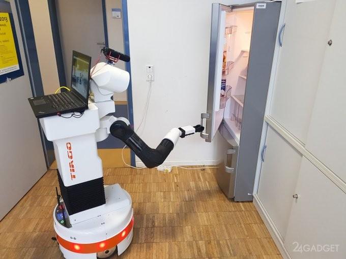 Робот TIAGo приносит пиво нужной марки из холодильника (6 фото + видео)
