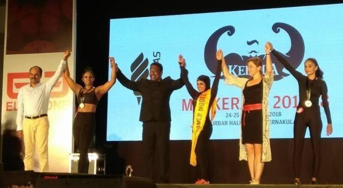 На конкурсе бодибилдеров победа досталась индианке в хиджабе (5 фото)