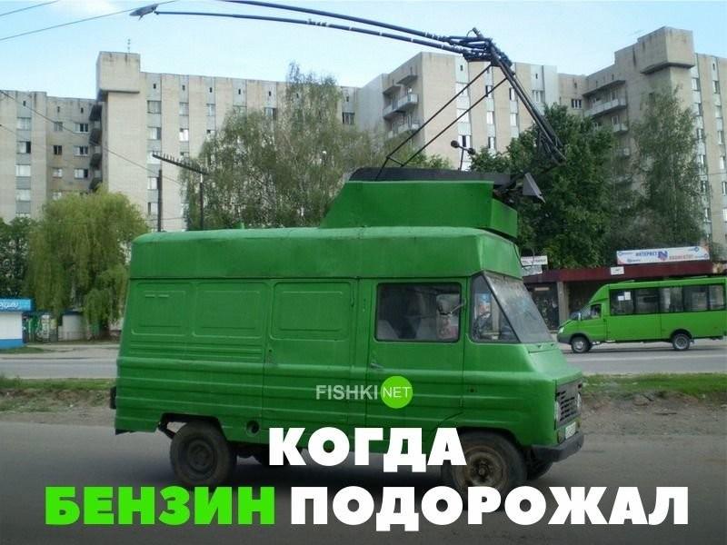 Подборка автомобильных приколов(27 фото)