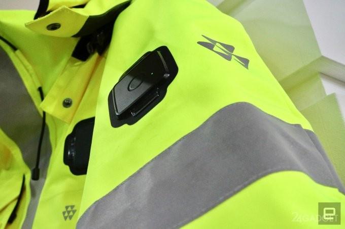 Спасая жизни: умная куртка для специальных служб от Nokia (7 фото)
