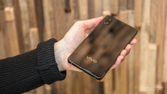 Vivo Apex: первый в мире абсолютный «безрамочник» с антишпионскими «фишками» (16 фото + видео)