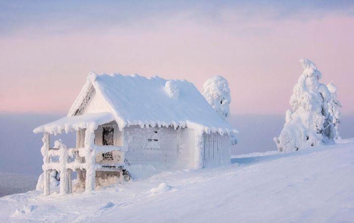 Сказочно красивая Лапландия (35 фото)