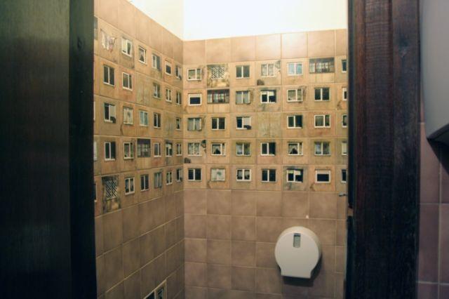 Необычная плитка для ванной комнаты (7 фото)