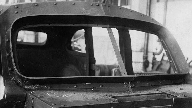 Испытания для правительственного бронированного автомобиля (9 фото)