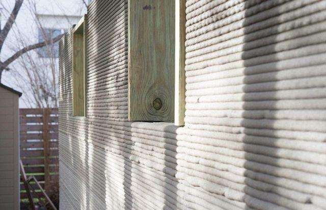 Распечатанный дом из цемента за 10 000 долларов (14 фото)
