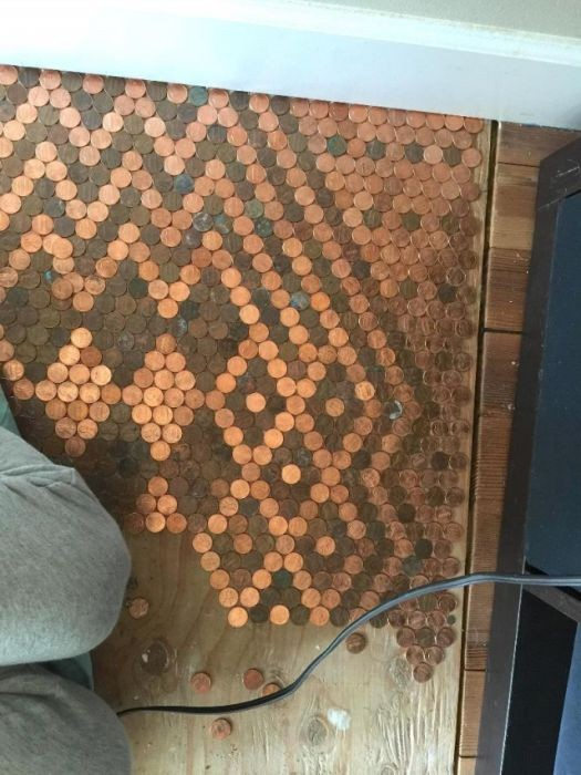 Красота в деньгах или как девушка создала уют в комнате (13 фото)