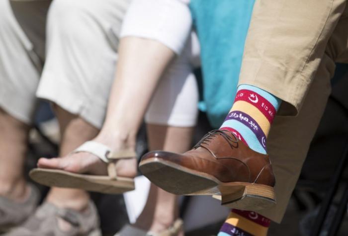 Яркие носки Джастина Трюдо (15 фото)