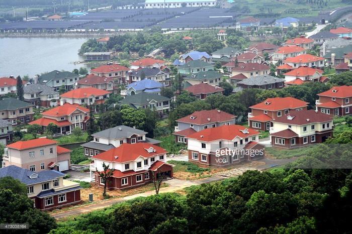 Китайская деревня миллионеров (5 фото)