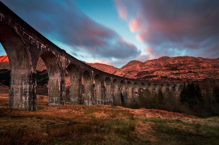Дорога в Хогвартс: поезд из сказки (7 фото)