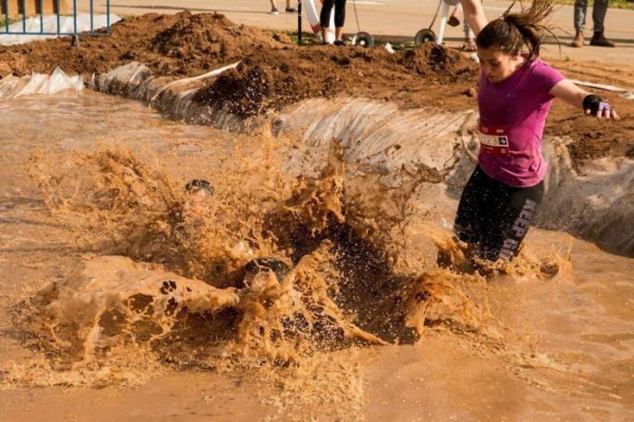 Гонка по грязи в Тель-Авиве (25 фото)