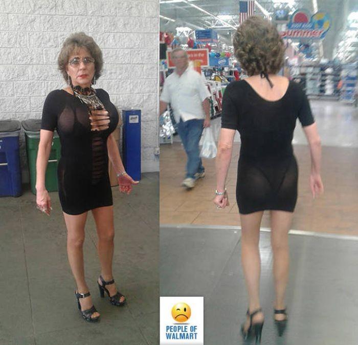 Чудные посетители супермаркетов Walmart (39 фото)