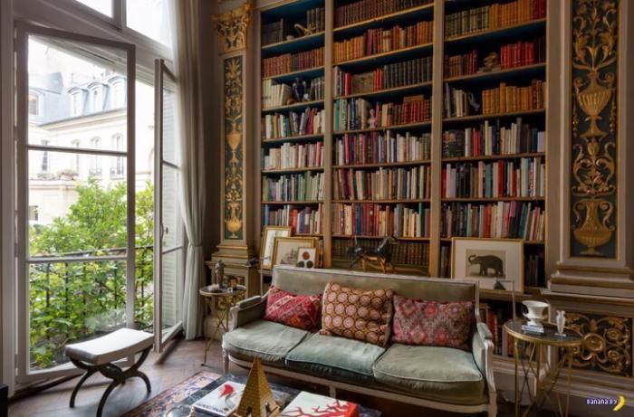 Парижская квартира (11 фото)