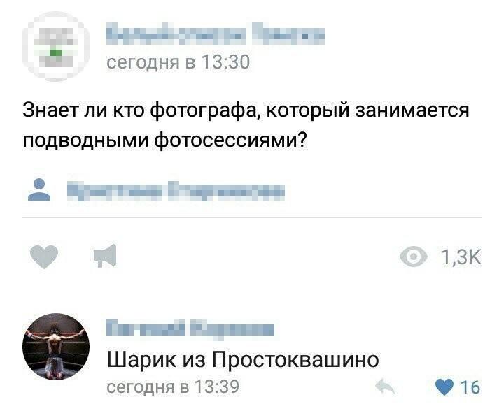 Смешные комментарии из социальных сетей (62 фото)