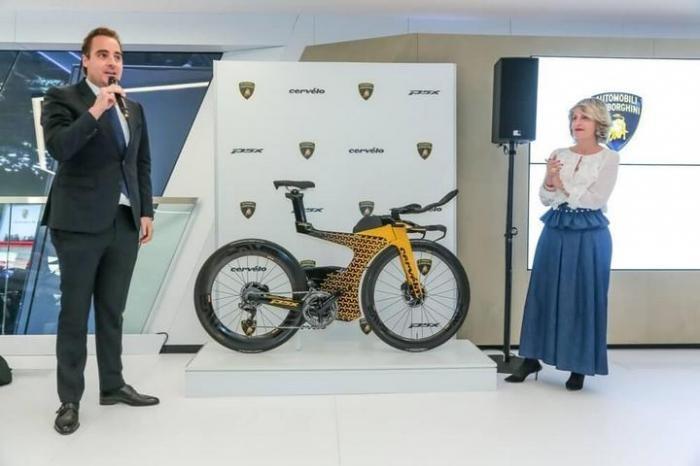 Велосипед от Lamborghini (3 фото)