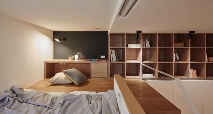 Квартира площадью 22 квадратных метра в Тайбэе (17 фото)