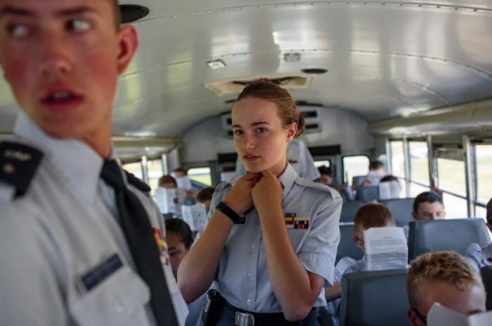 Военные игры: патриотические клубы, обучающие молодых американцев (22 фото)