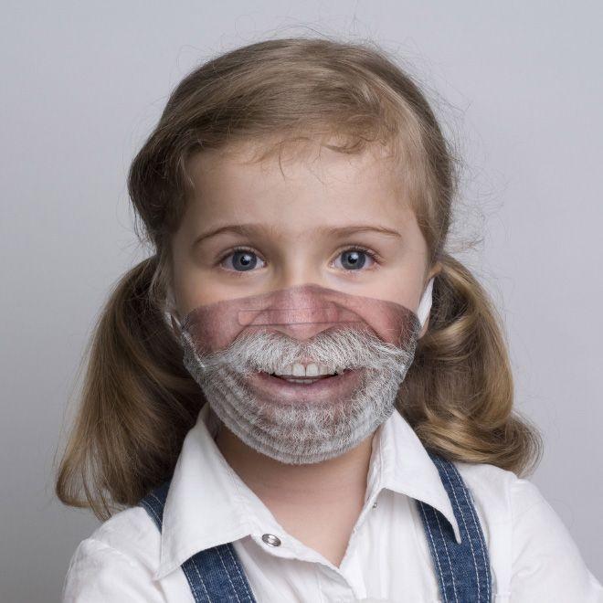 Забавные хирургические маски (14 фото)