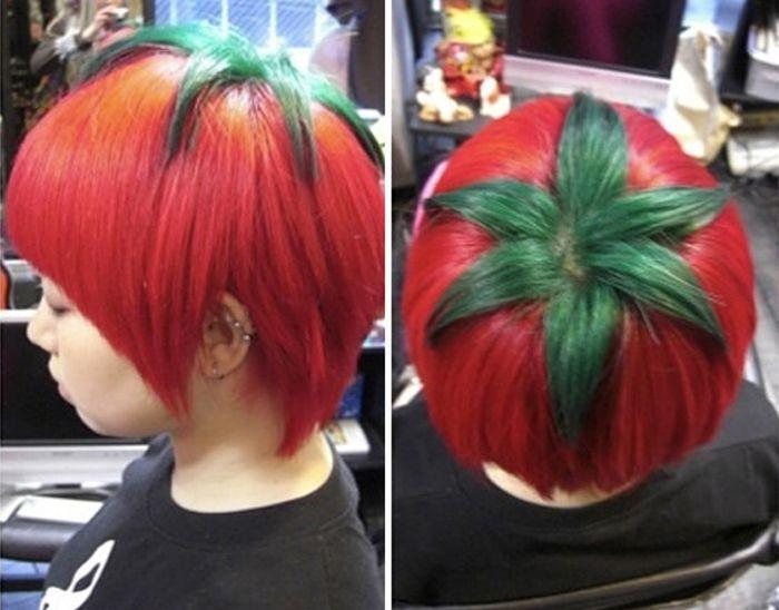 Произведения искусства от парикмахеров (23 фото)