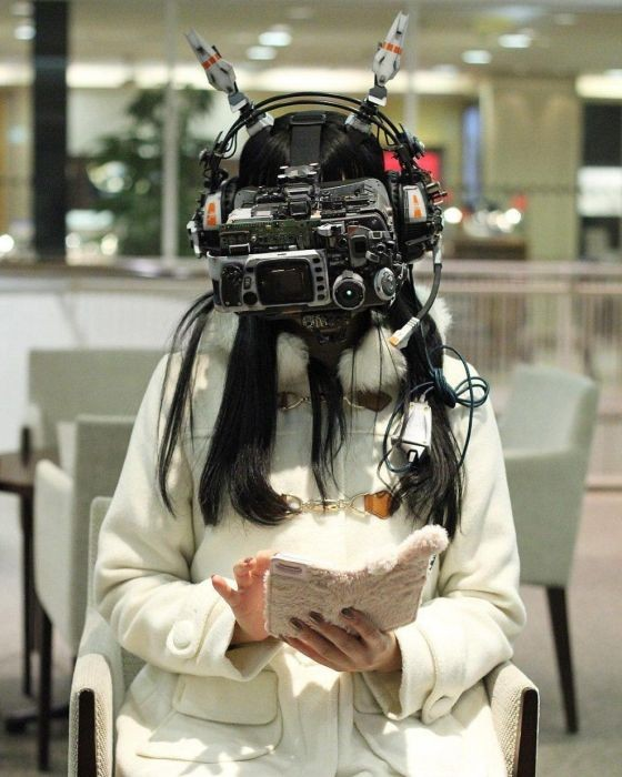 Футуристические гаджеты от Хирото Икеючи (20 фото)