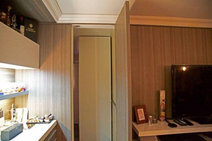 Секретная комната в квартире обычной девушки (14 фото)