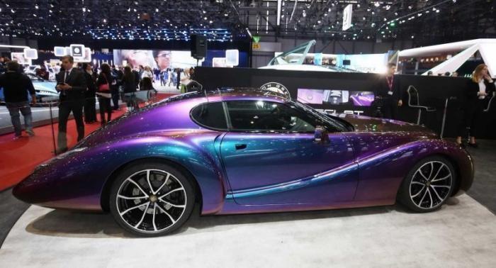 Eadon Green Zeclat - современный Corvette в новом ретро-обличии (22 фото + видео)