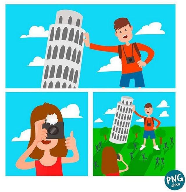 Жизненные комиксы с долей абсурда (24 фото)