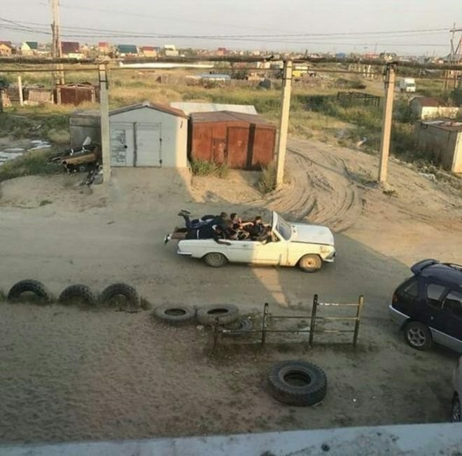 Подборка автомобильных приколов (31 фото)