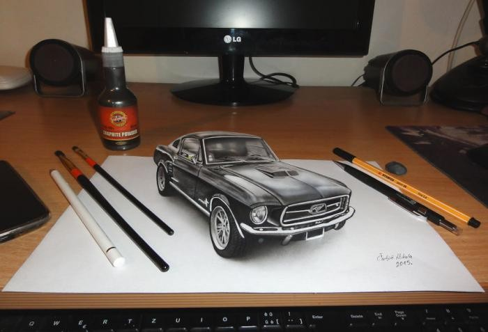 Так и хочется потрогать: гиперреалистичные 3D-рисунки (14 фото)