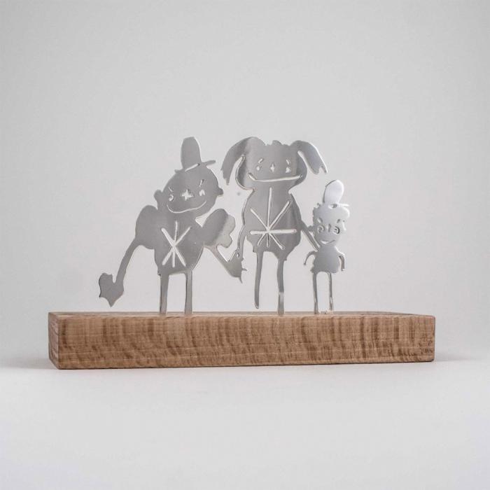 Художники превращают детские каракули в ювелирные изделия (15 фото)