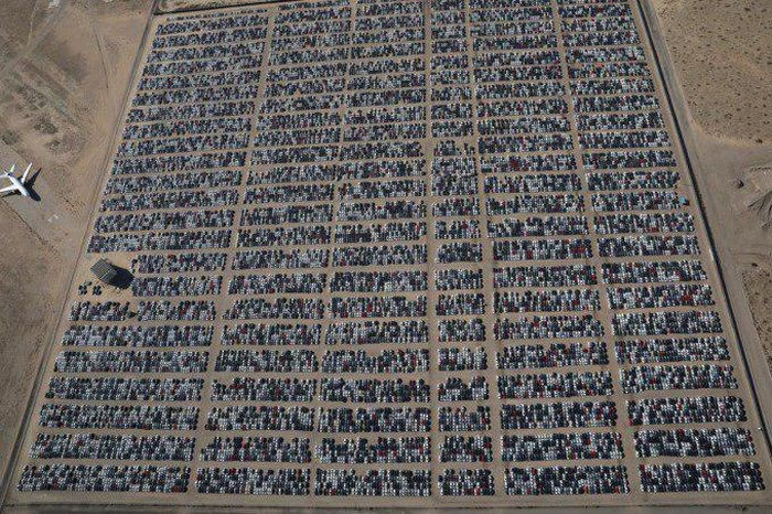 «Кладбище Фольксвагенов» в Калифорнии (4 фото)