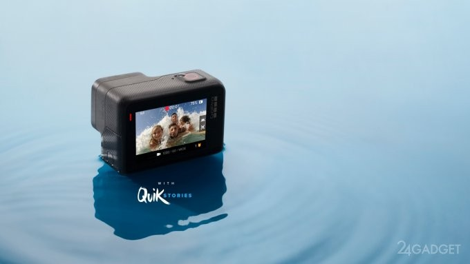 GoPro выпустил бюджетную экшн-камеру Hero (3 фото + видео)