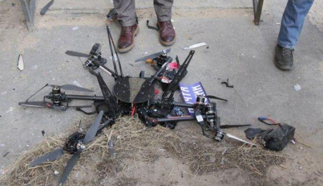 «Почта России» провалила первую попытку доставить посылку дроном (4 фото)