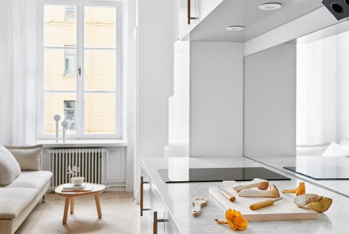 Меньше некуда: 18 квадратных метров функционального дизайна (9 фото)