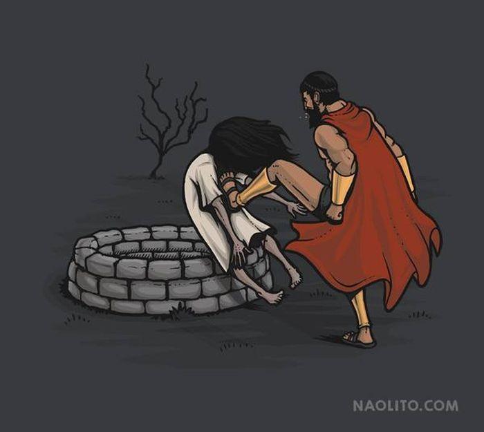 Саркастичные иллюстрации художника Начо Диаса (26 фото)