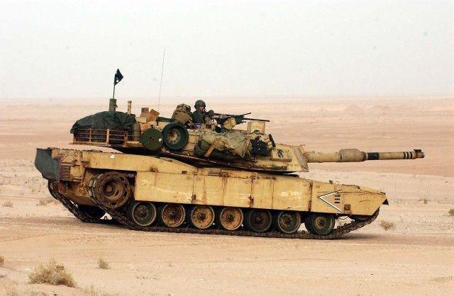 Нелегкая доля экипажа танка M1 Abrams (12 фото)