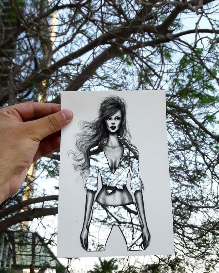Новые и потрясающие модные силуэты от Шамеха Блуви (12 фото)